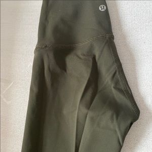 Lululemon Green Leggings